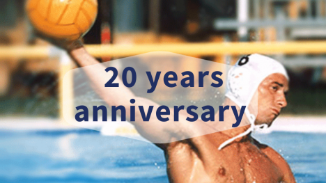 20 ans Topsec Thierry Alimondo Waterpolo